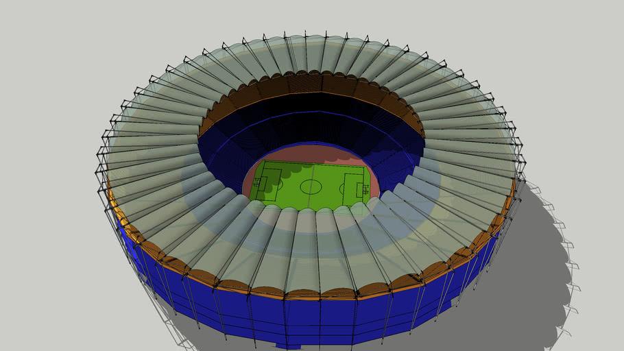 estadio de futbol redondo