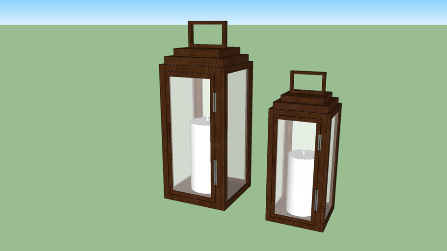 wooden lantern, lanterna de madeira, enfeite, jardim