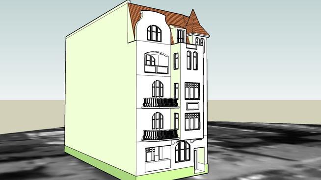 TENEMENT HOUSE ON 3 PLAC WOLNOSCI IN BYDGOSZCZ