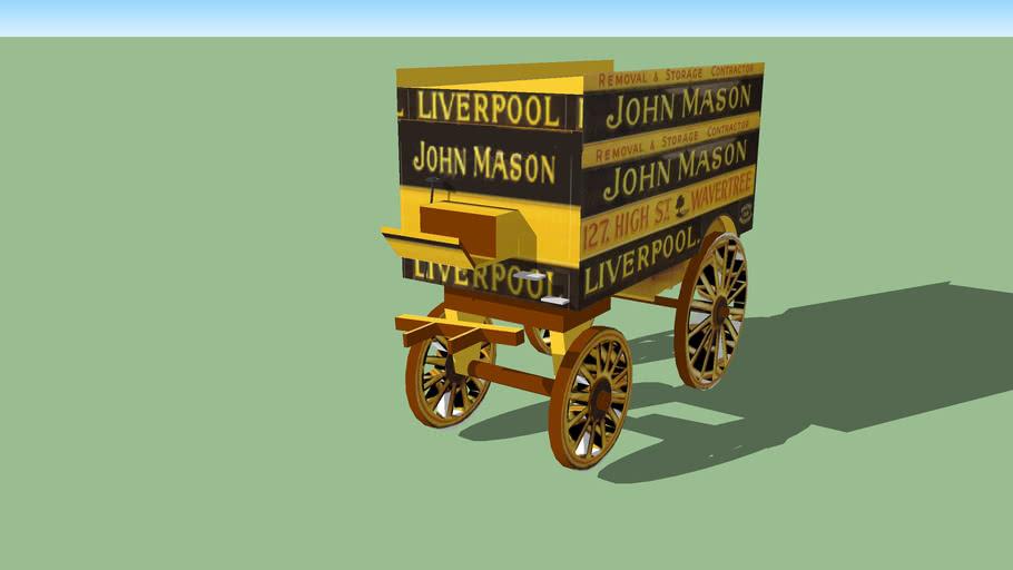 old  removals &storage cart