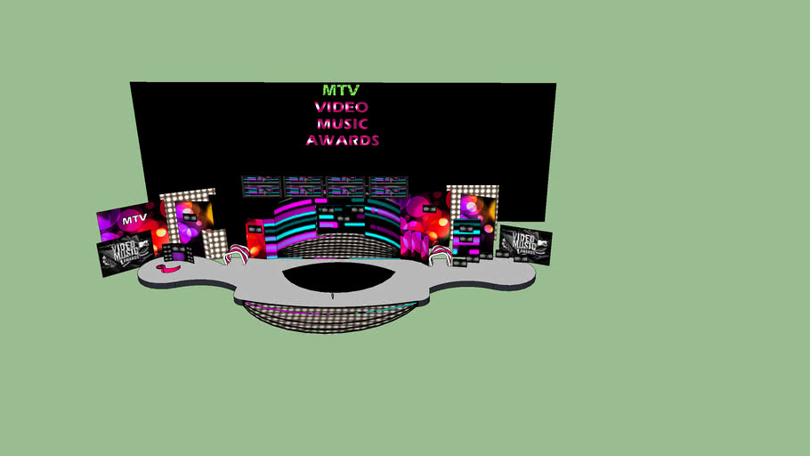 MTV VIDEO MUSIC AWARDS STAGE DESIGN