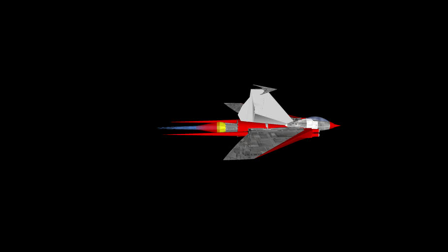 Planet Corps industries X-72R Stingray class short range fighter