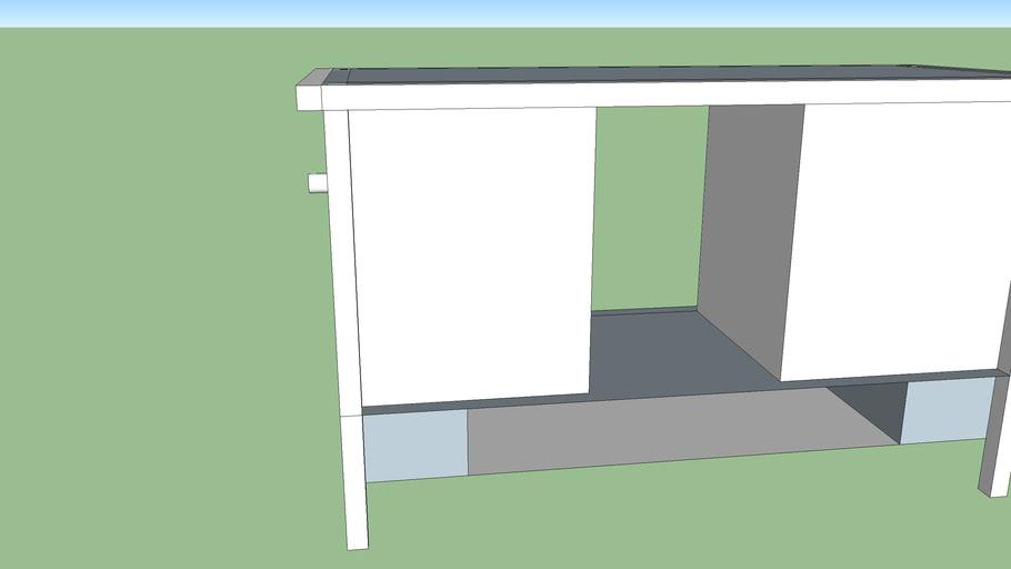Multi-functional furniture - Table Storage
