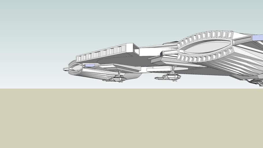 sci-fi ship or x-jet