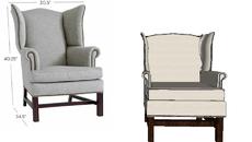 ARMCHAIR- fotele