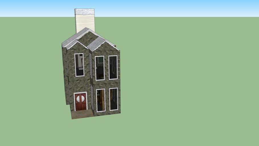 DESIGNER CHRISTMAS HOUSE 1