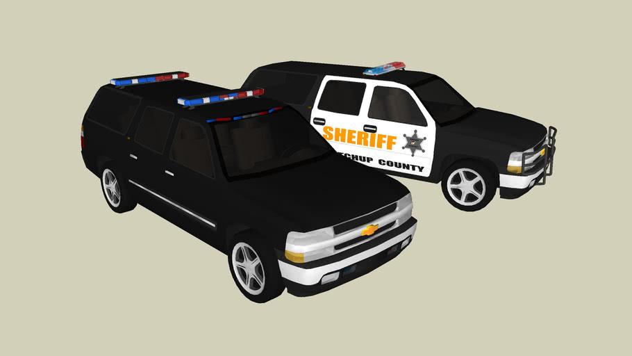 Police Chevy Suburbans