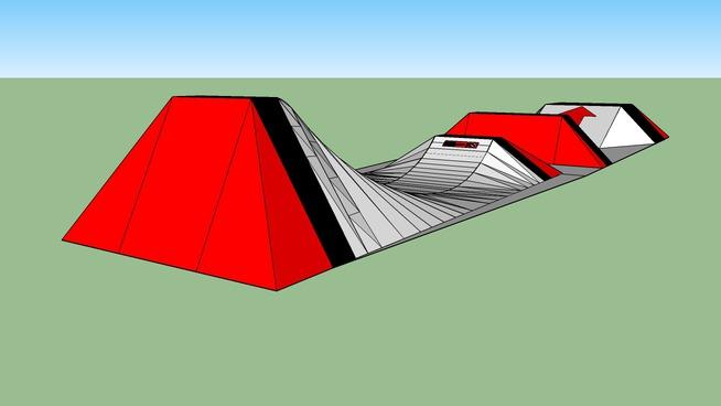 snowboard mega ramp