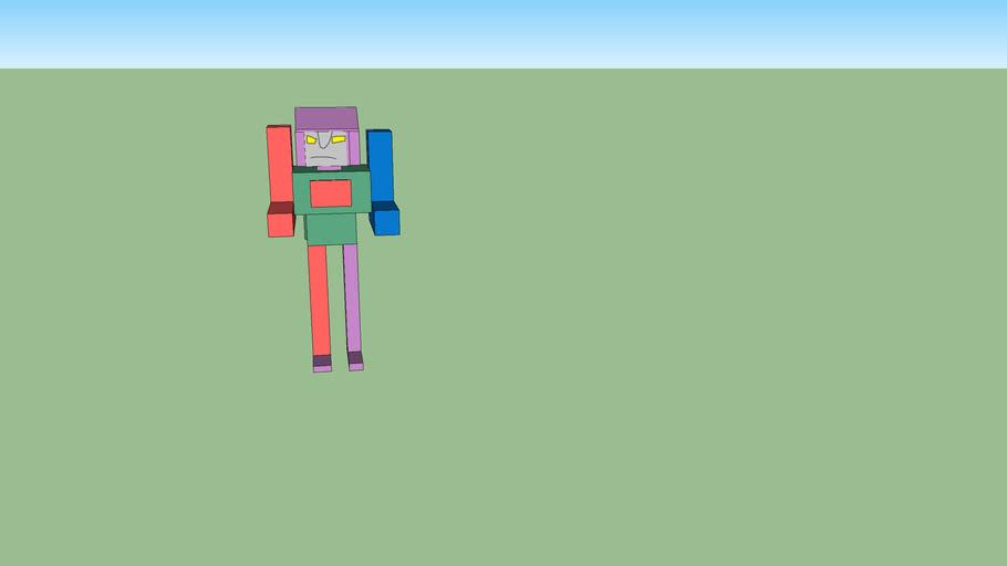 サイキョウジン モデルVImeoロボットモデル