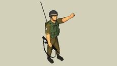 Various Infantry & Law Enforcement