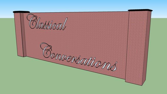 Classical Conversations Wall