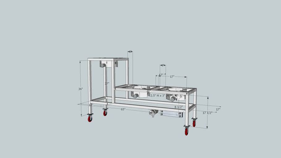 Brew Stand Model