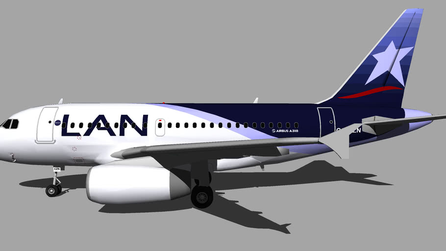 LAN Airlines (CC-CZN) - Airbus A318-121 (2008)