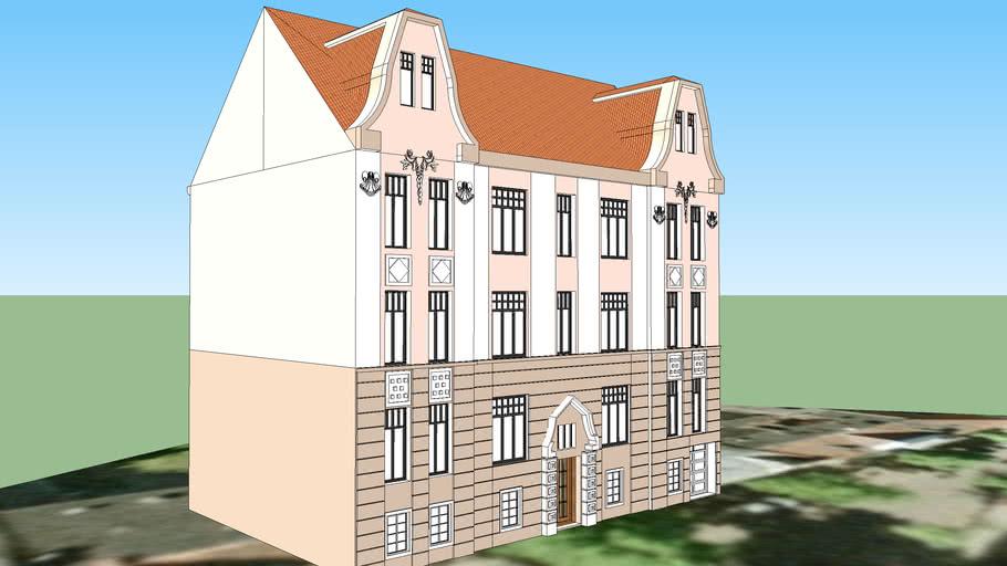 TENEMENT HOUSE ON 8 ZAMOYSKIEGO STREET IN BYDGOSZCZ