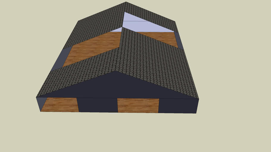 house with holes