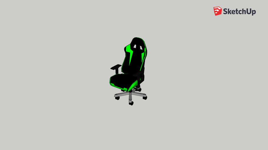 Green Gaming Chair v3