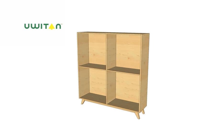 Broma Shelf 2x2 UWITAN