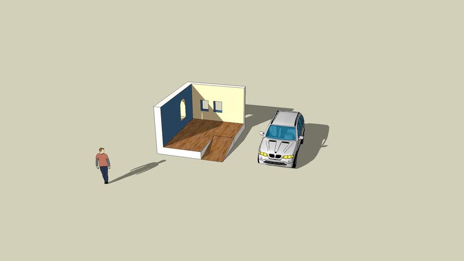 İlk Ev Çizimim - My First Home Drawing