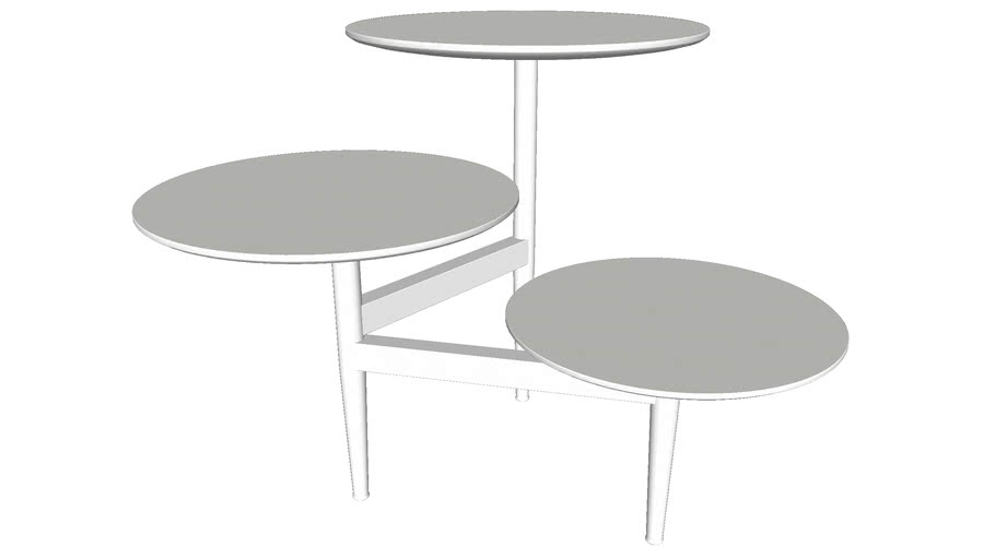 Hatton Side Table  Ice by Modloft