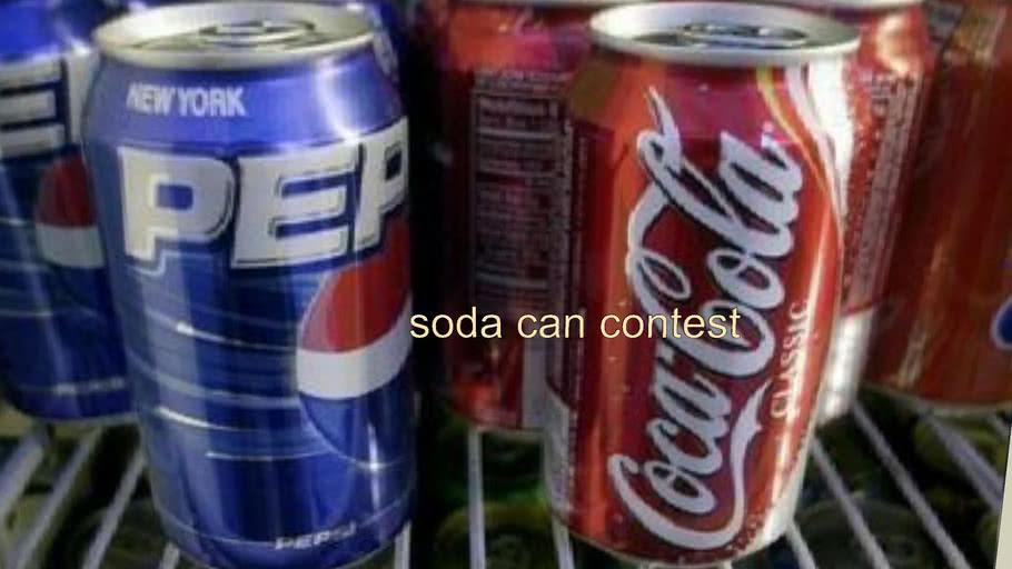 soda can contest