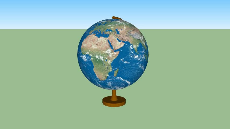 globe terrestre 3 - earth globe 3