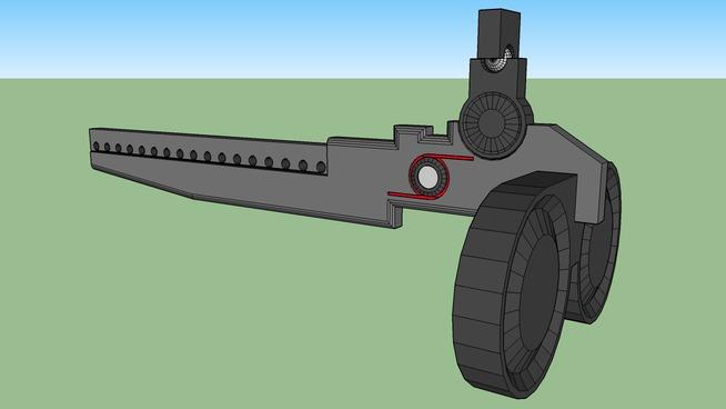 Sub-Chassis Machine Gun