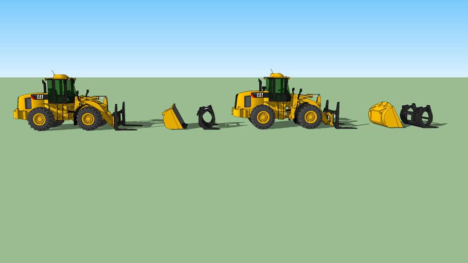 Caterpillar 924 h 135 hp & 930 h 154 hp
