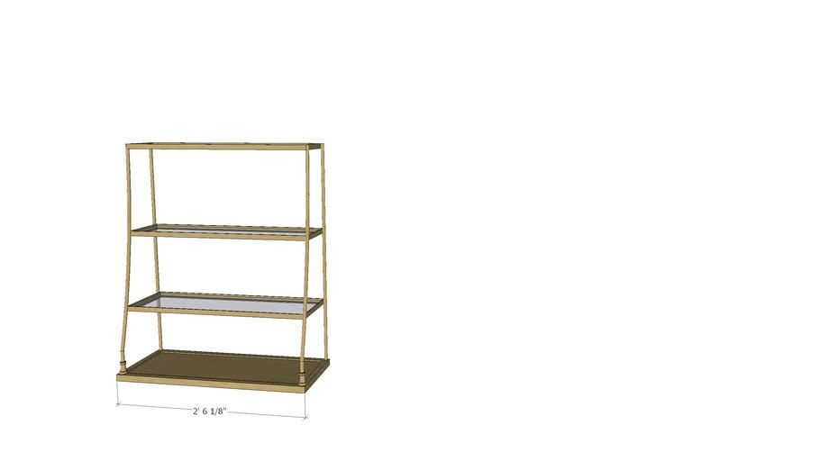 Fitting 3 Shelf Single