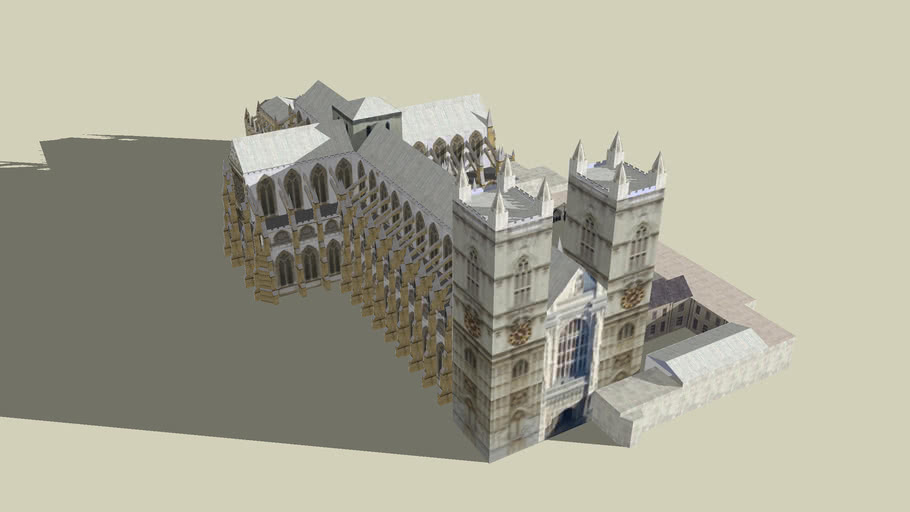 Westminster Abbey AKA the Palace of Westminster (461kb)    update