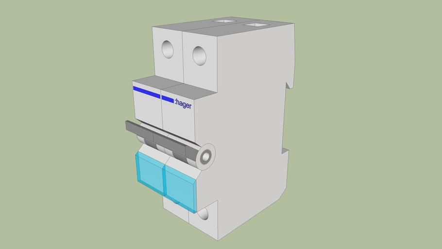 ST.F.2P - Circuit breaker 2-pole