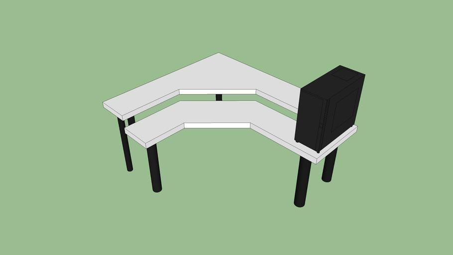 My custom pc desk