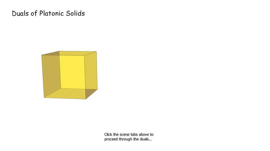 Duals of Platonic Solids