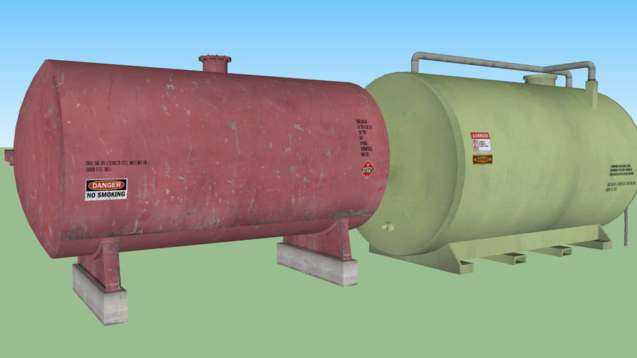 Large fuel container set 2