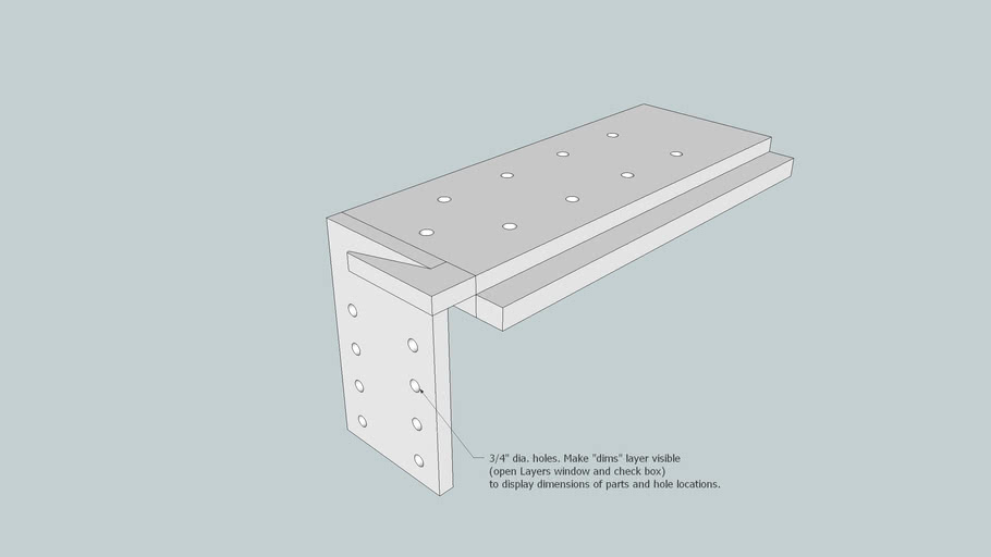 Bench Hook from June 2011 Issue Popular Woodworking Magazine