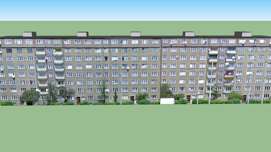 Praha, Černokostelecká 83-91