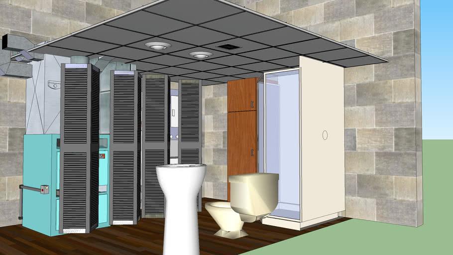 Rendall lower bathroon