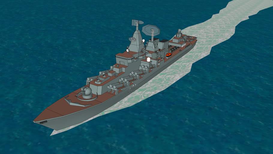 Russian Navy Cruiser, Moskva