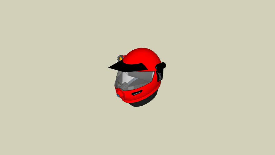 Starmaster Fleet - Hostile Biosphere Suit Helmet