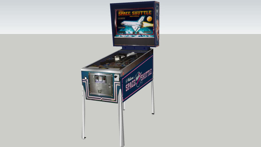 Space Shuttle pinball game