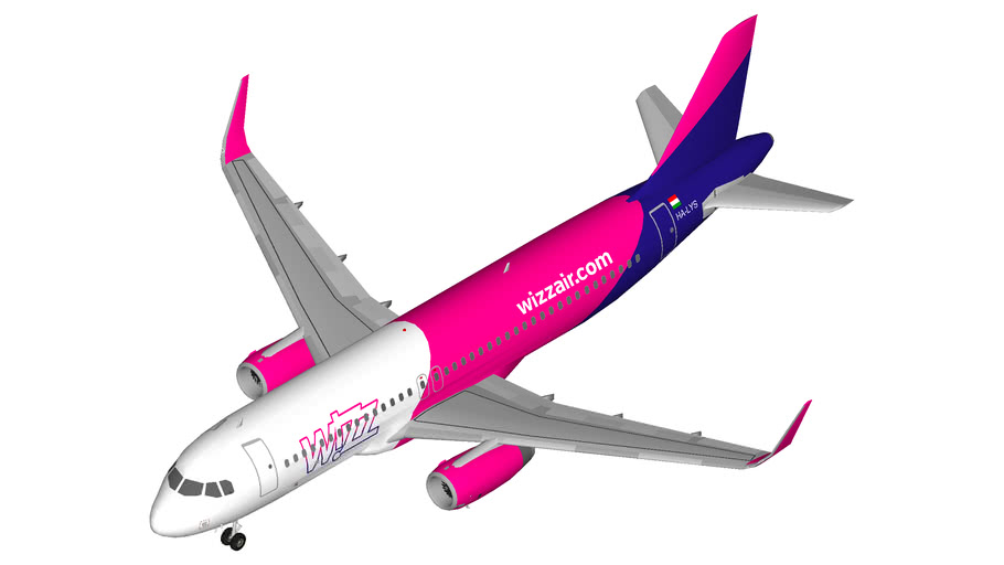 Wizz Air Airbus A320 Sharklets