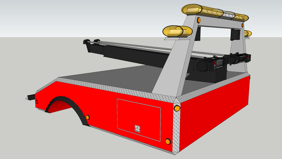 tow truck bed