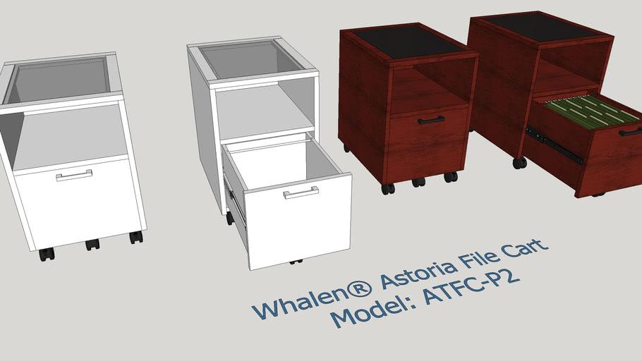 Whalen® Astoria File Cart