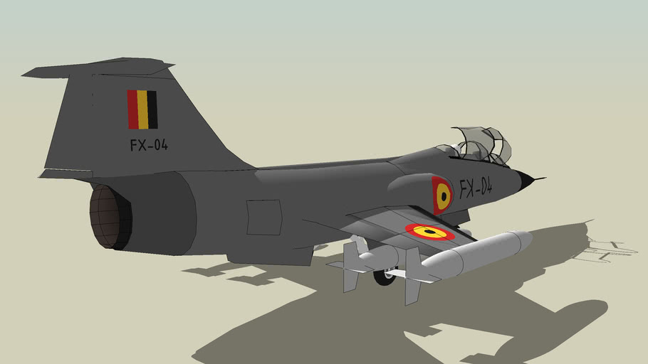 Belgian Air Force Lockheed F-104G Starfighter