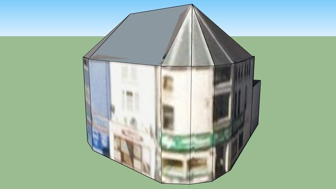 Corner Building Cowbridge Rd E / Wyndham Crescent / Kings RD, Cardiff UK