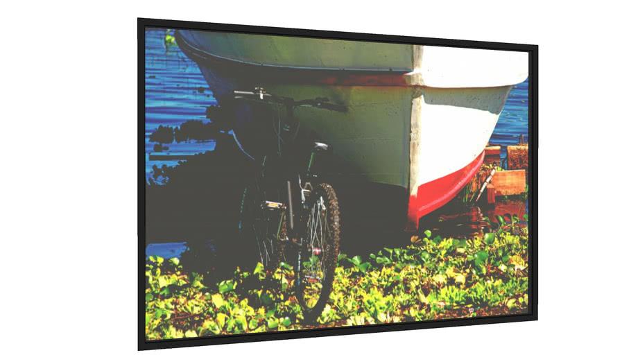 Quadro Bike e barco - Galeria9, por Farago