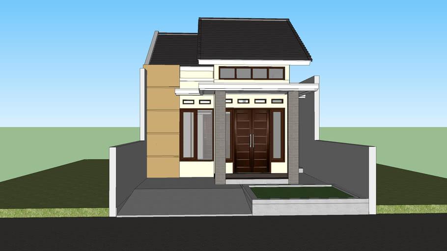 Rumah Minimalis Tipe 36 | 3D Warehouse