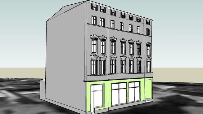 TENEMENT HOUSE ON 58 GDANSKA STREET IN BYDGOSZCZ