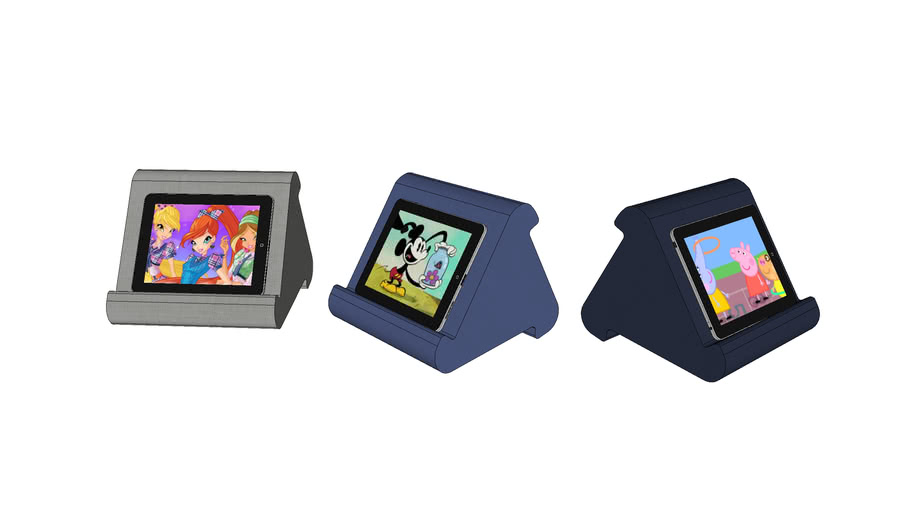 New Flippy Multi-Angle Soft Pillow Lap Stand for lPads Tablets Smartphones