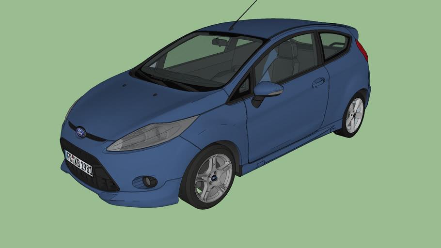 Ford Fiesta Mk7 (Typ JA8)