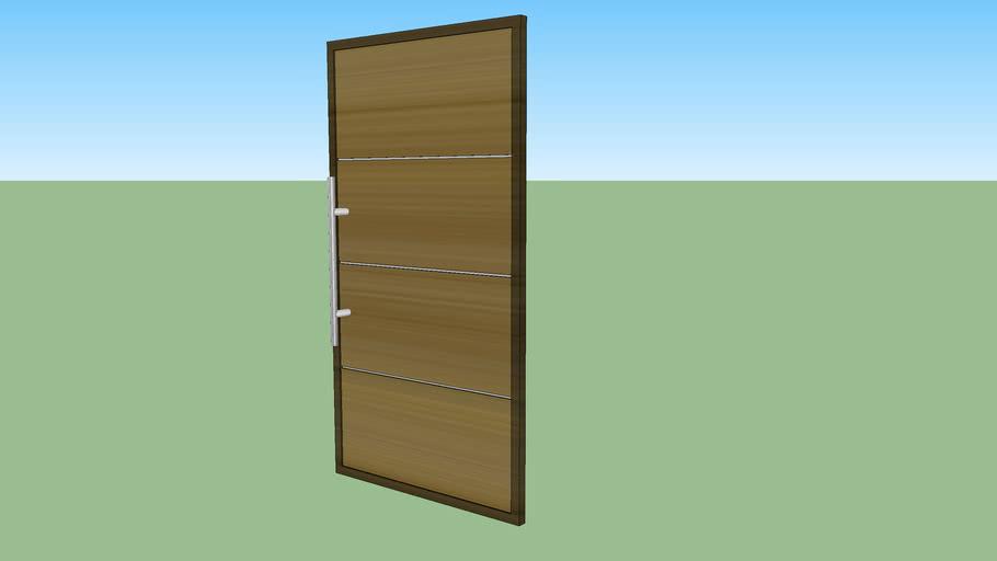 Porta em madeira Rustica